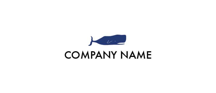 Logo 10 blue whale