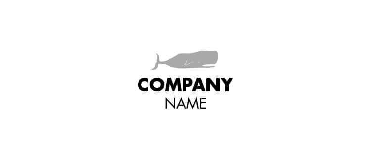 Logo 10 grey whale