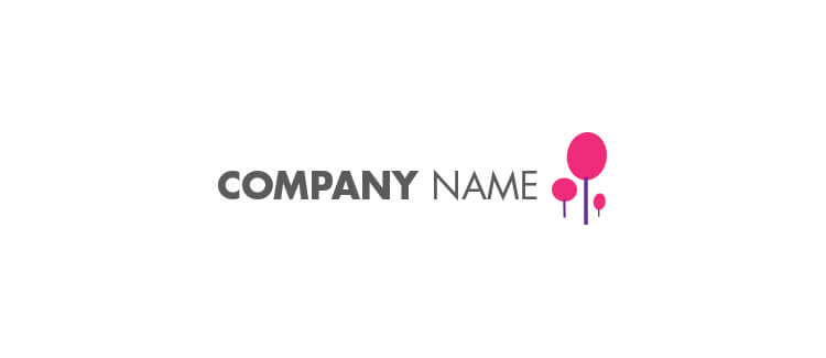 Logo 11 pink purple