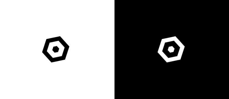 Logo 18 black white