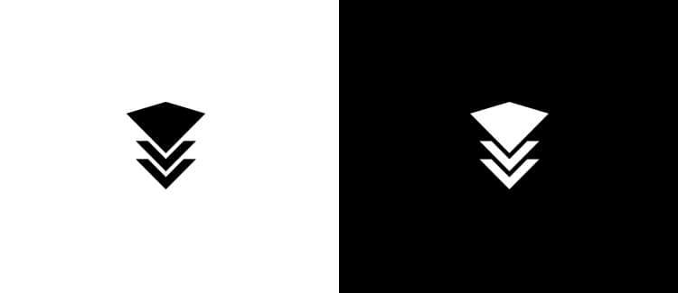 Logo 4 Black White