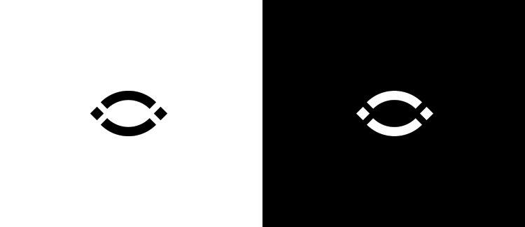 Logo 6 black and white