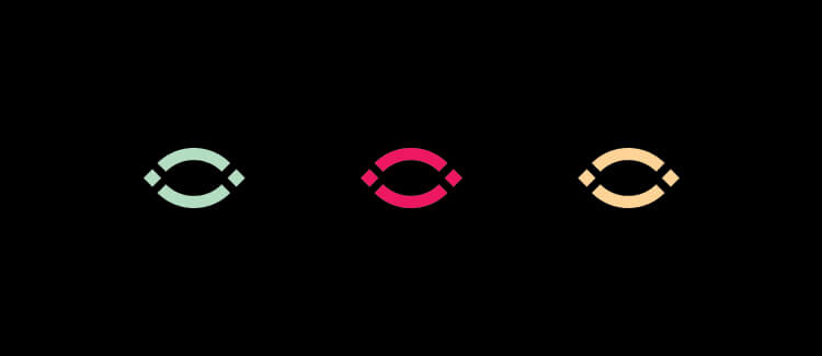 Logo 6 on Black