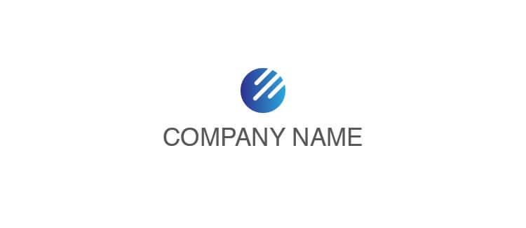 Logo 9 blue