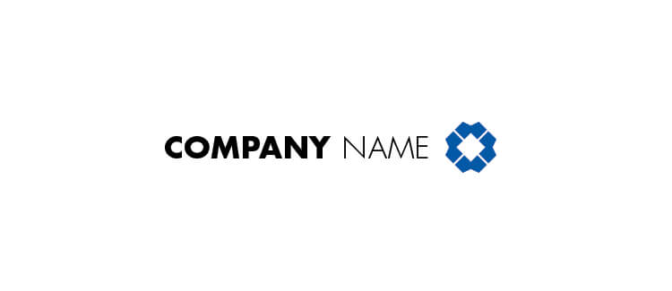 Free Logo Download - Blue Example