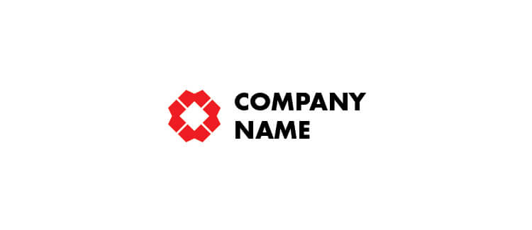 Free Logo 2 - Red Example