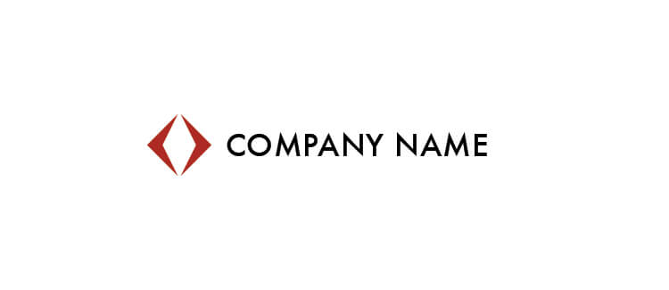 Red Logo Template